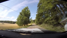 SS1 Lahti Historic Rally 2014