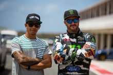 F1 vs Rally Cross - Top Gear Festival Barbados with Ken Block