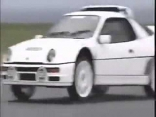 Top Gear Jeremy Clarkson avarija su Ford RS200