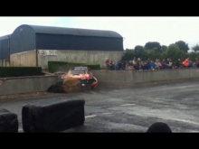 Subaru Impreza WRC crash @ Stonethrowers Rally