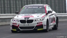 BMW M235i Racing Exhaust Sound at the Nürburgring