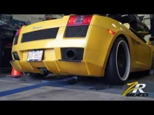 800hp Heffner Twin-Turbo Lamborghini Gallardo on the Dyno