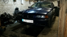 Mindaugo e36 drift project with 4,0 engine in Lithuania