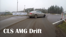 MercedesBenz CLS 550 AMG - Nemunring winter games Wrapup