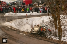 2015 Rallye Monte Carlo stages
