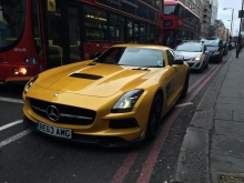 SLS AMG BlackSeries