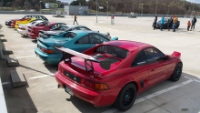 MR2 klubo meet'as
