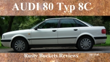 Rusty Buckets Reviews Audi 80 Typ 8C