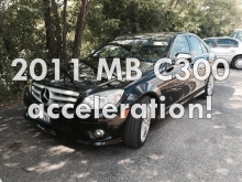 2011 Mercedes - Benz C300 acceleration 0 -100!