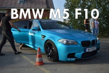 BMW M5 F10 acceleration inside!