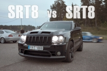 Jeep Grand Cherokee SRT8 vs Jeep Grand Cherokee SRT8!