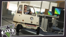 Peel P50 + GTA = Top Gear interpretacija