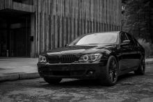 Daily Driven | Black BMW 7-series E65 FL