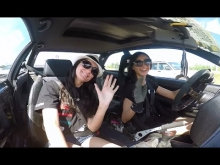 Girls drift bmw e36 / Deimante Radzeviciute
