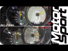 0-250 km/h : 911 GT3 vs GT3 RS