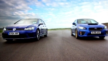 Golf R VS Subaru WRX STi
