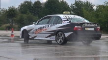 BMW M5 E39 Drift Taxi - GREAT SOUNDS!