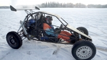 Crosskart and Streetbike on ICE