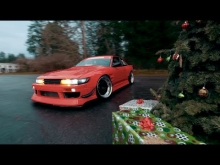 Drifting around the christmas