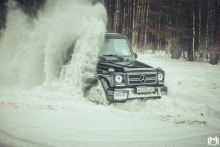 Mercedes-Benz G klasse AMG Off-road.