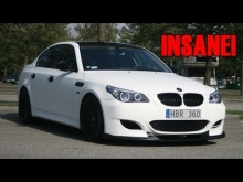 BMW E60 530xd acceleration 0 - 100km/h! (300HP, 650NM)
