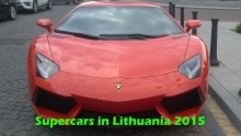 Supercars in Lithuania - 2015