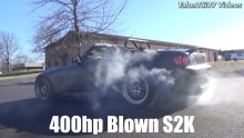 Science Of Speed Blown S2000 Burnout