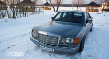 Mercedes-Benz W126 V8 5.0 Sound & Drift.