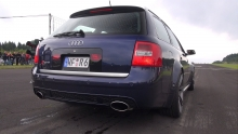 Audi RS6 Avant C5 4.2L V8 Biturbo Exhaust Sounds!