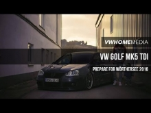 VW Golf MK5 TDI 'Prepare for WSee 2016