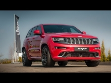 Jeep Grand Cherokee SRT: Exterior, interior and engine