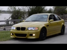 BMW E46 M3 | Phoenix Yellow