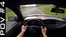 BMW 550i E61 | POV #4 - GERMAN COUNTRY ROAD ACCELERATION SPEED ONBOARD