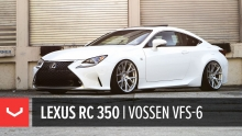 Lexus RC 350 | All New Vossen