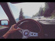8 x BMW E30 running free in the mountains