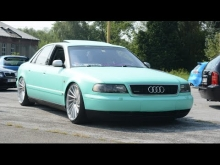 Menthol Audi A8 on VOSSEN - Amazing SOUND!!!