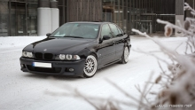 BMW E39 - FIRST SNOW 2017 | GoPro.