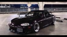 Midnight Purple Miata