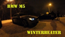 BMW M5 E60 SNOW DRIFT